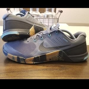 Nike Metcon 2 Grey Camo Size 11 Training